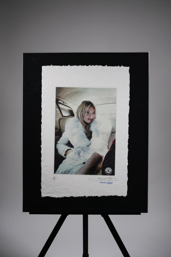 "Kate Moss ""Winter"" Print"