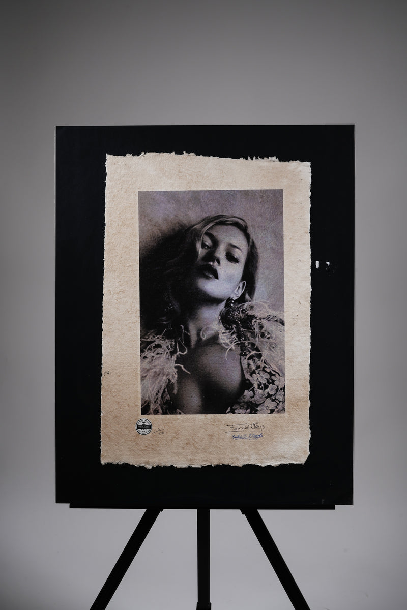 "Kate Moss ""Exposed"" Print"
