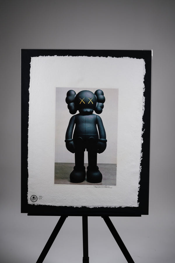 "KAWS ""Blacked"" Print"