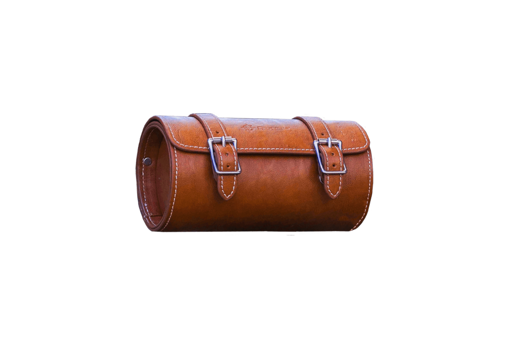 Leather Front Pouch | Rayvolt Premium E Bikes