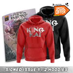 Chronicles of King Kai: Issue #1 Autographed + Red/Black King Kai Hoodie Bundle