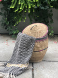 Large Straw Basket