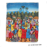 Women Gathered Oil Painting