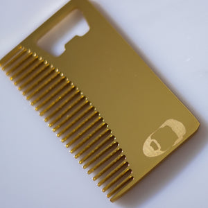 Premium Wallet Beard Comb & Bottle Opener