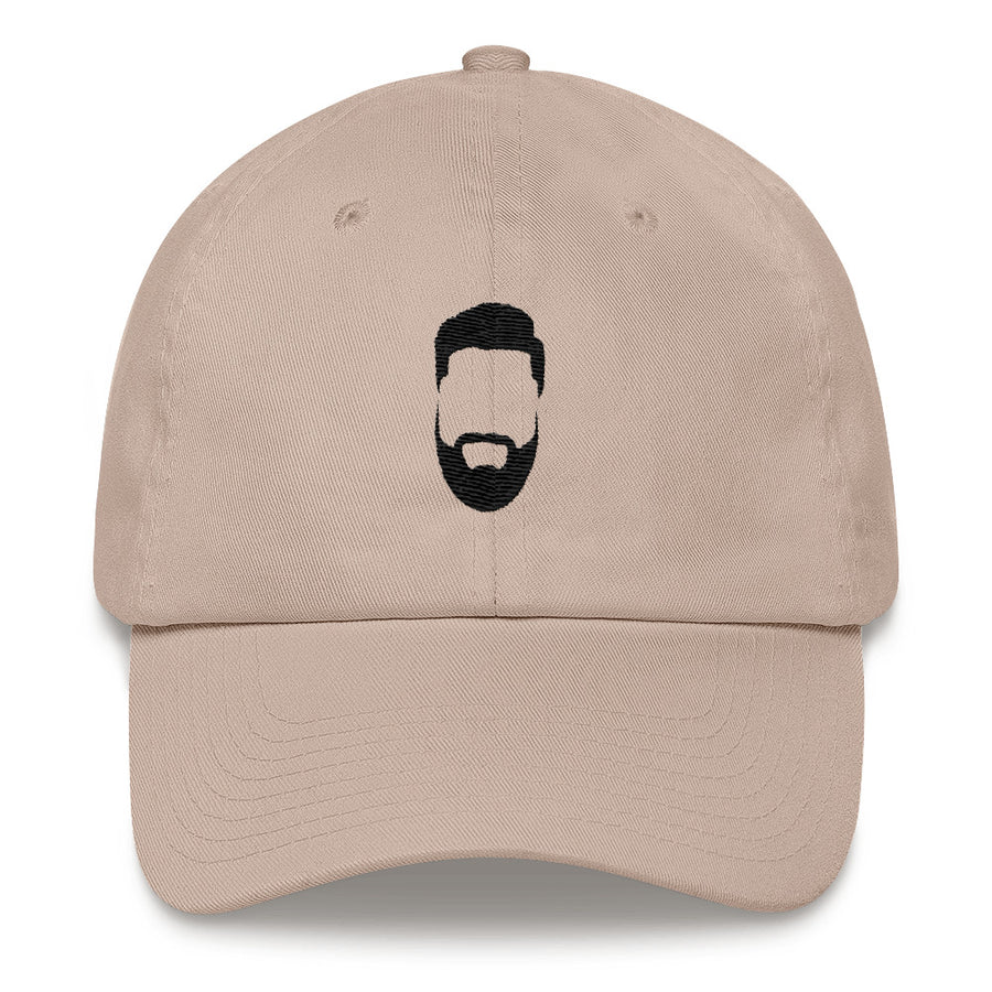 Dad Hat Black Logo