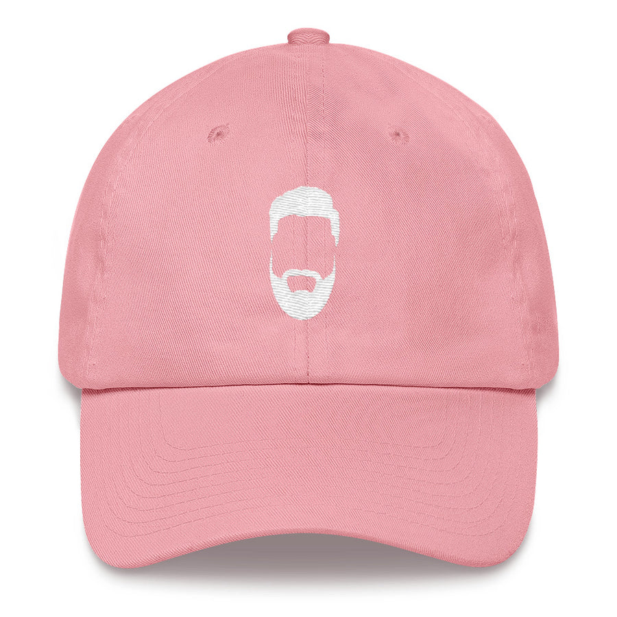 Dad Hat White Logo