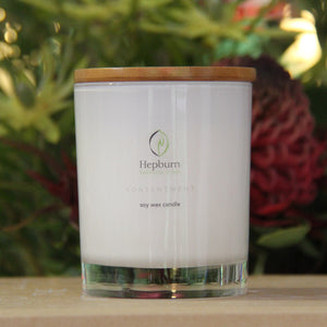 Contentment Soy Wax Candle