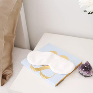 Silk Sleep Mask White