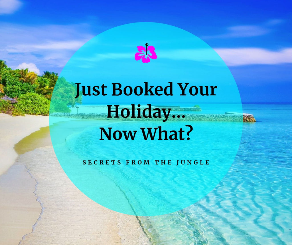 Just Booked Your Holiday... Now What?!