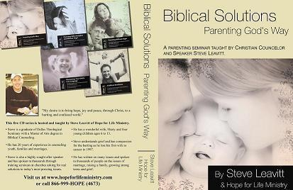 1/5 Parenting God's way - An Overview of biblical parenting - AUDIO DOWNLOAD