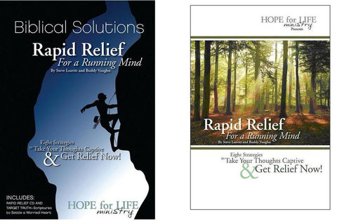 Anxiety/Depression/OCD - Rapid Relief for the Running Mind - Rapid Relief CD - Comforting Scripture CD