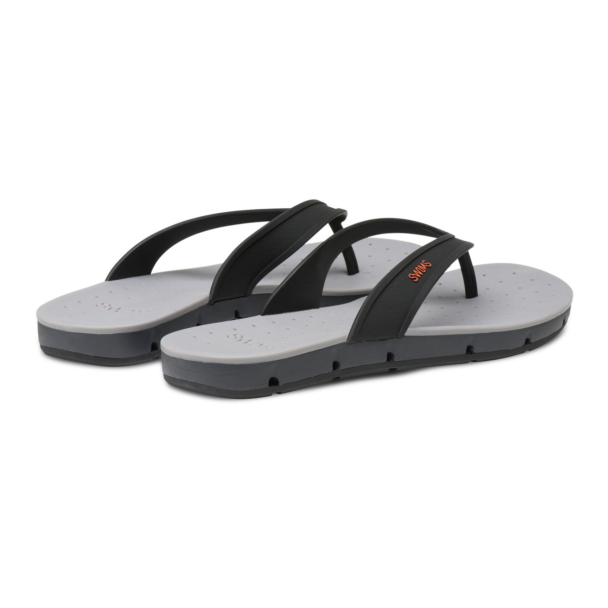 Breeze Thong Sandal - background::white,variant::Black/Graphite