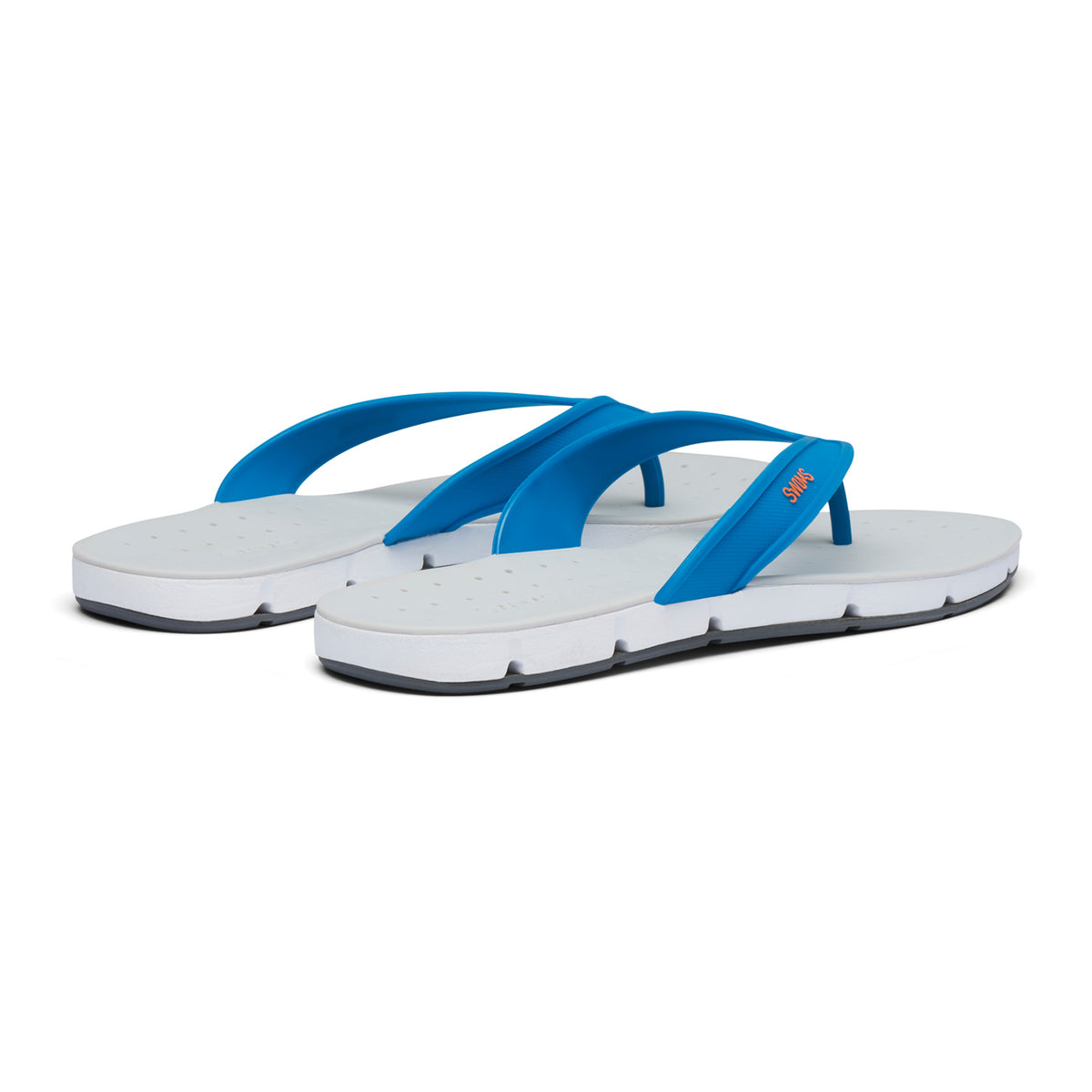Breeze Thong Sandal - background::white,variant::Seaport Blue/Alloy