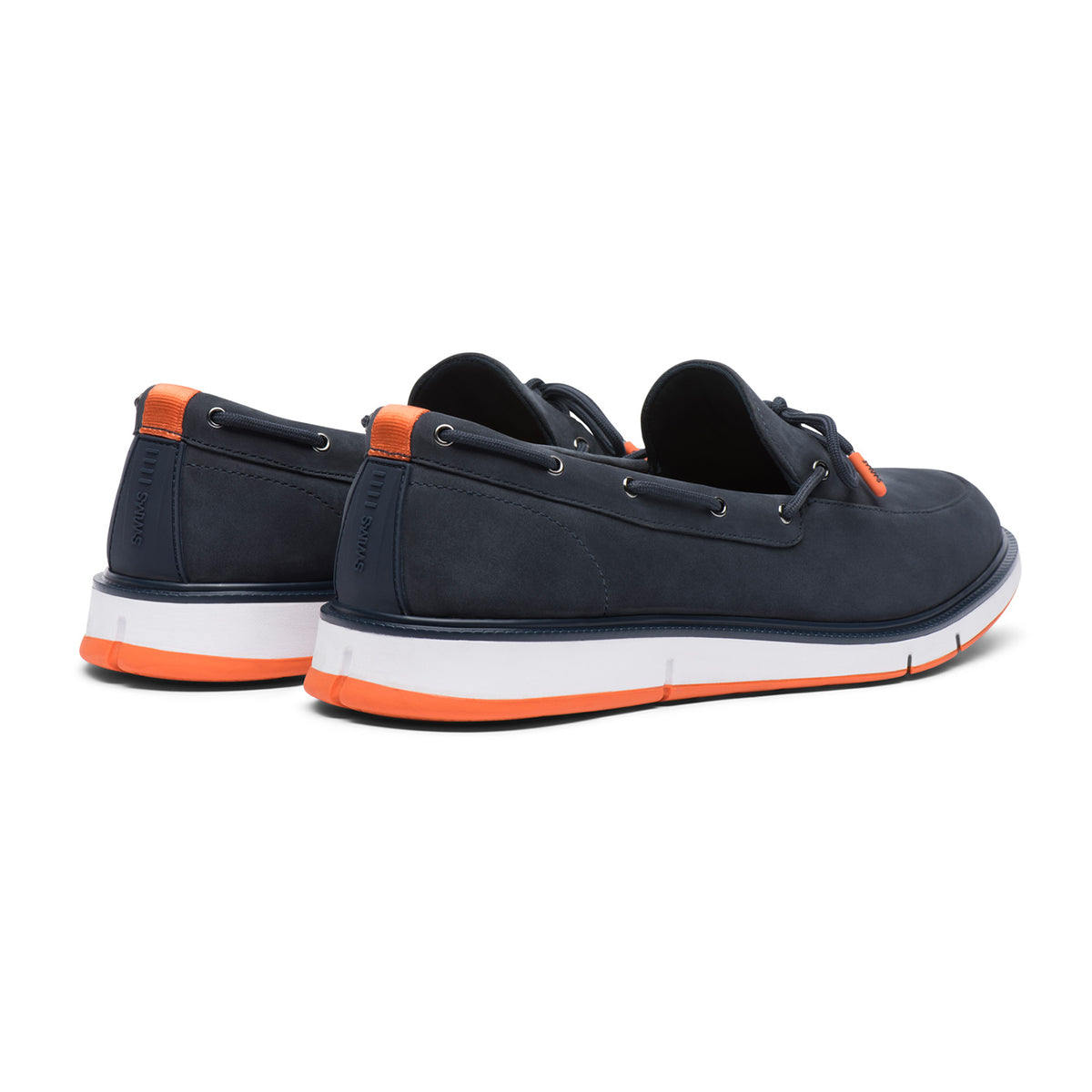Motion Lace Loafer - background::white,variant::Navy/Orange