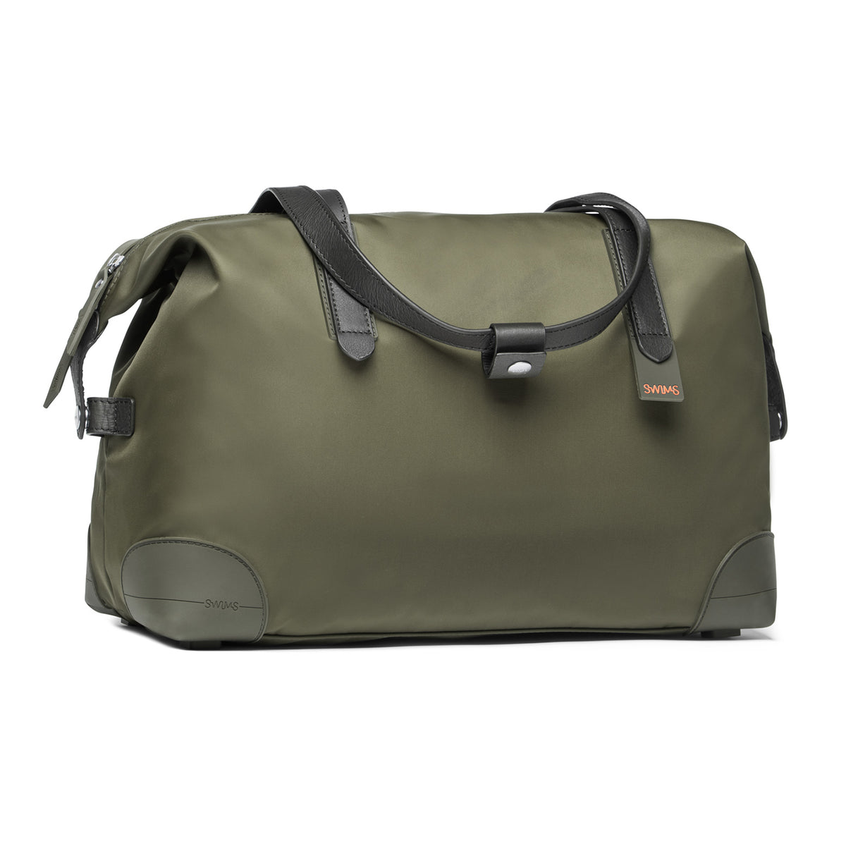 24H Holdall - background::white,variant::Olive