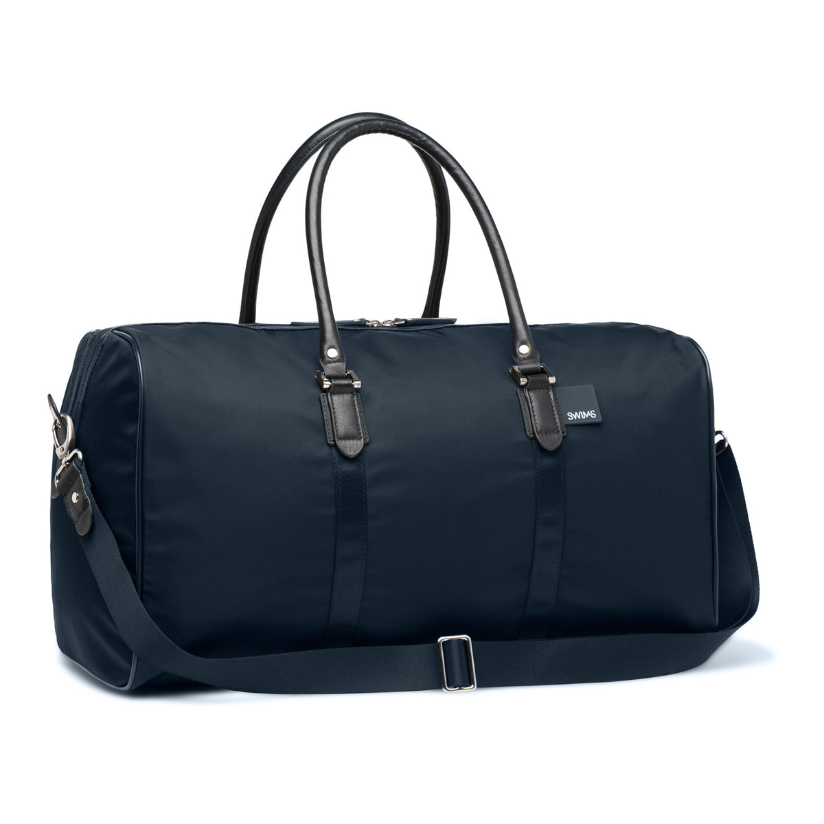 Boston Duffel Bag - background::white,variant::Navy