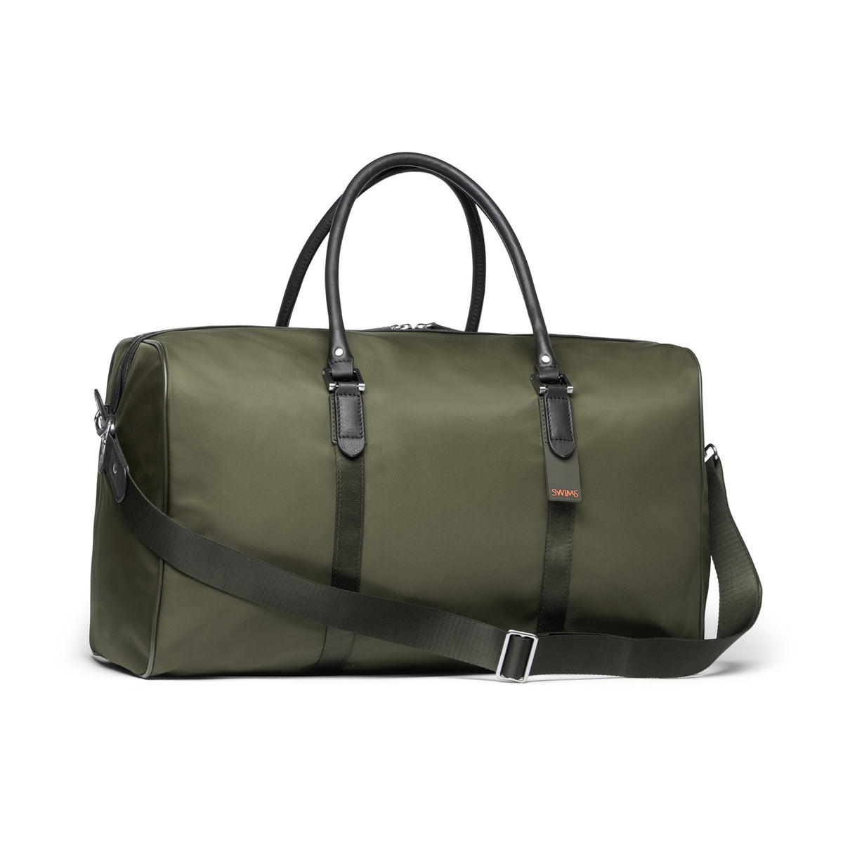 Boston Duffel Bag - background::white,variant::Olive