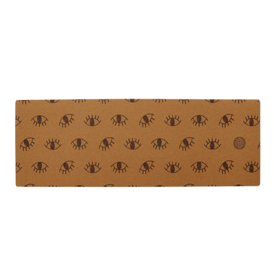 Eyes Cork Yoga Mat (Eco Friendly / Toxic Free)