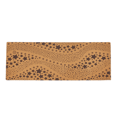 Starry Night Cork Yoga Mat (Eco Friendly / Toxic Free) - Chuchka
