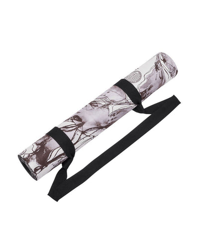 Floral Print Eco Friendly Yoga Mat (Microfiber Suede) - $79 USD | CHUCHKA