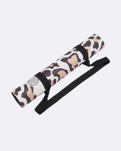 Leopard Print Eco Friendly Yoga Mat (Microfiber Suede) - $79 USD | CHUCHKA