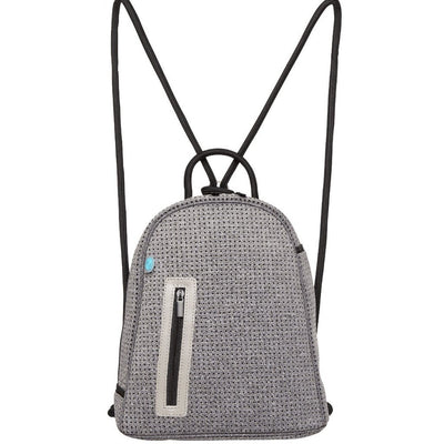Kourt Neoprene Backpack (Grey Black)