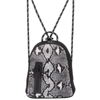 Talia Neoprene Backpack (Snakeskin)