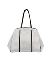 Graphite Velvet Bag (Light Grey) | $139 USD | CHUCHKA