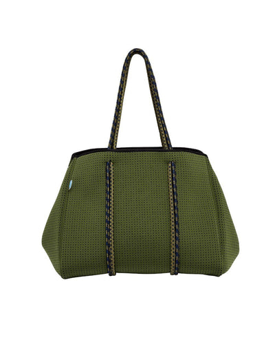 Marlo chuchka neoprene bag in khaki