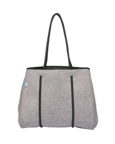 Mini chuchka neoprene bag in charcoal grey