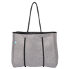 Charcoal Mini Neoprene Tote