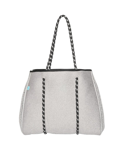 Mini granite chuchka neoprene bag in light grey