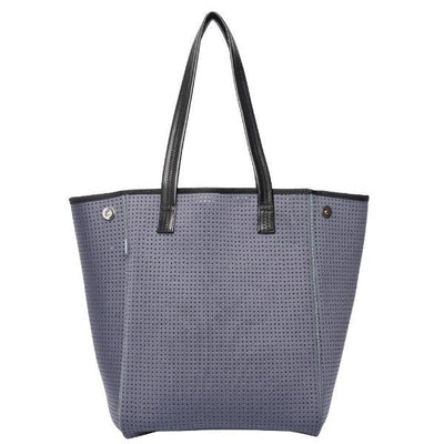Mini chuchka neoprene tote in dark grey