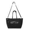 Coco Neoprene Black Diaper Bag - CHUCHKA Luxe Accessories