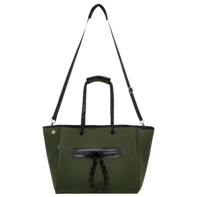 Coco Neoprene Diaper Bag (Khaki)