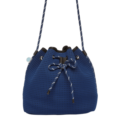 Delia Neoprene Bucket Bag