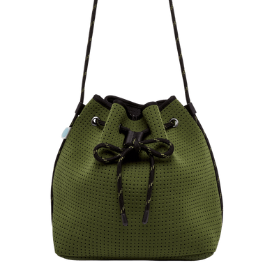 Jillian Neoprene Bucket Bag