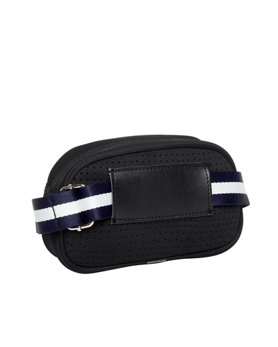 Alina Neoprene Bum Bag (Black) - Chuchka