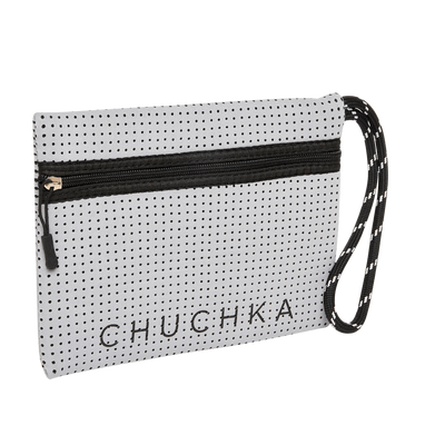 Archie Neoprene Clutch (Grey)