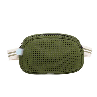 Alby Neoprene Bum Bag (Khaki) | $39.95 USD | CHUCHKA