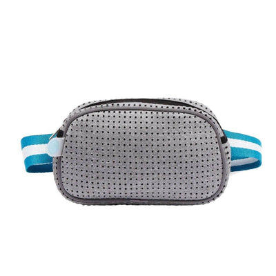 Allie Neoprene Bum Bag (Grey) | $39.95 USD | CHUCHKA