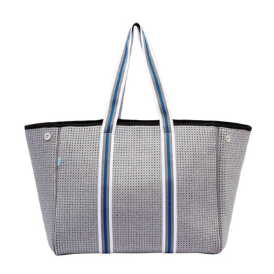 Bella Neoprene Tote Bag (Grey) - $109 | CHUCHKA