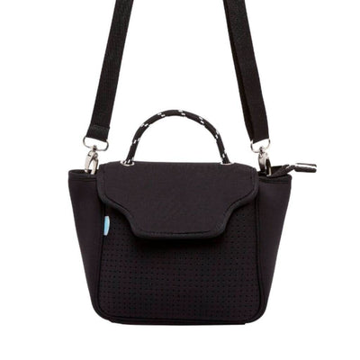 Bianca Neoprene Crossbody Bag (Black) - $89 | CHUCHKA