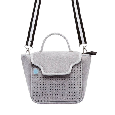 Billi Neoprene Crossbody Bag (Grey) - $89 | CHUCHKA