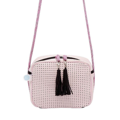 Carla Neoprene Crossbody Bag (Pink)