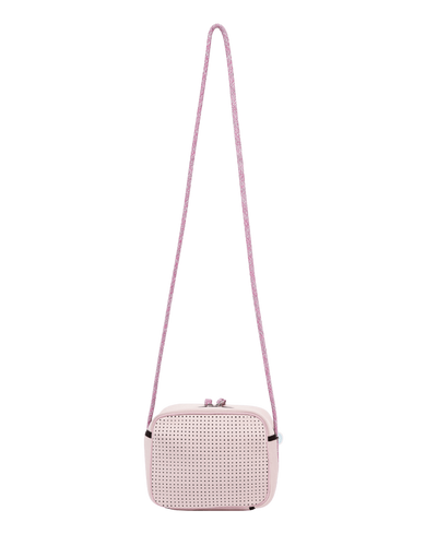 Carli Neoprene Crossbody Bag (Pink)