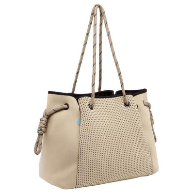 Tamara Beige Neoprene Bag