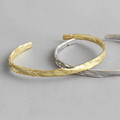 Crush Bangle (Gold) - Chuchka Jewelry