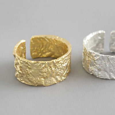 Crush Ring - Thick (Gold) - Chuchka Jewelry