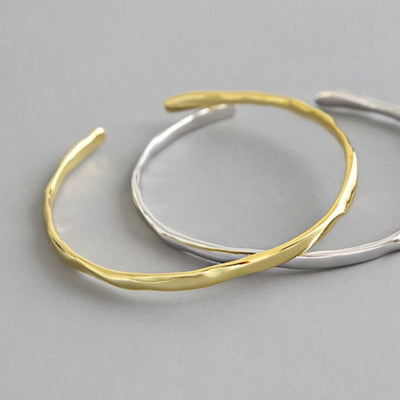 Smooth Bangle (Gold) - Chuchka Jewelry
